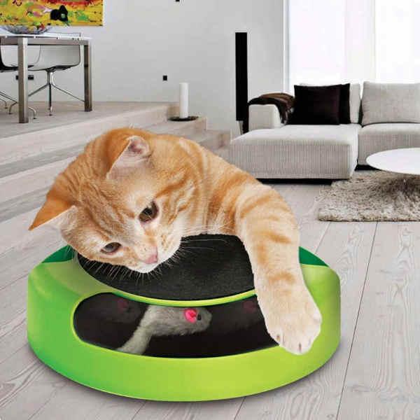 juguete para gatos tech traders
